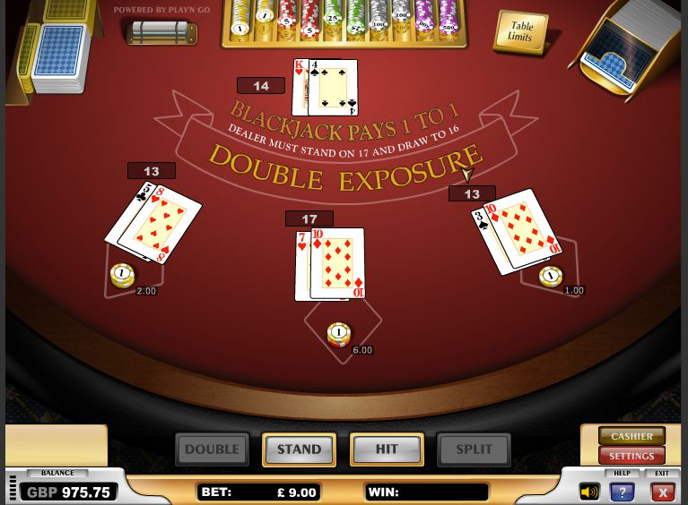 blackjack regeln double